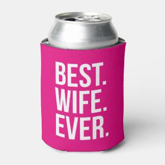La mejor esposa nunca enfriador de latas