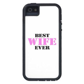 La mejor esposa nunca iPhone 5 carcasas