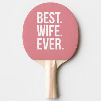 La mejor esposa nunca pala de ping pong