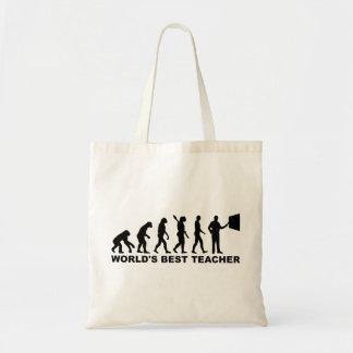 La mejor evolución del profesor del mundo bolsas