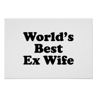 La mejor ex esposa del mundo impresiones
