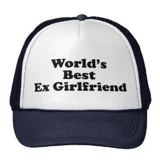La mejor ex novia del mundo gorras