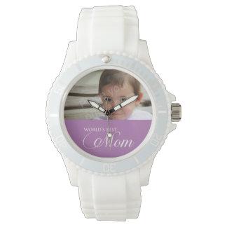 La mejor foto del personalizado de la mamá del relojes