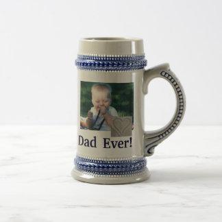 La mejor foto Stein del papá Jarra De Cerveza
