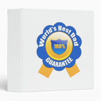 """La mejor garantía del papá el 100% del mundo carpeta 1 1/2"""""""