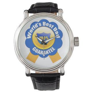 La mejor garantía del papá el 100% del mundo relojes