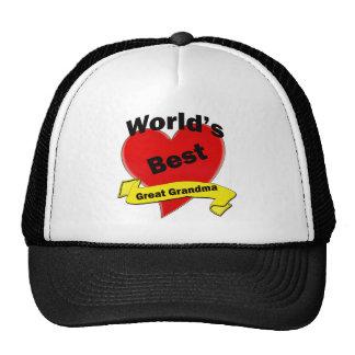 La mejor gran abuela del mundo gorras