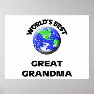 La mejor gran abuela del mundo impresiones