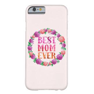 La mejor guirnalda floral de la mamá nunca - funda de iPhone 6 barely there