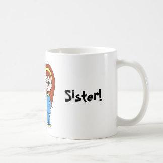 ¡La mejor hermana del mundo! Taza Clásica