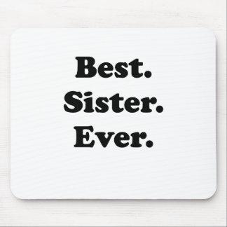La mejor hermana nunca tapete de ratón