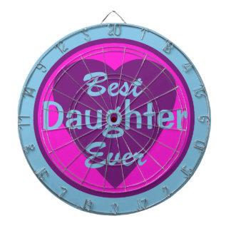 La mejor hija nunca tabla dardos