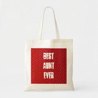 La mejor idea siempre roja del regalo del modelo bolsa tela barata