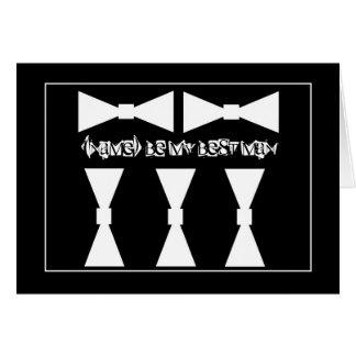 La MEJOR invitación del boda del hombre con las pa Tarjeta