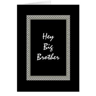 La mejor invitación del hombre de BROTHER - diseño Tarjeta De Felicitación