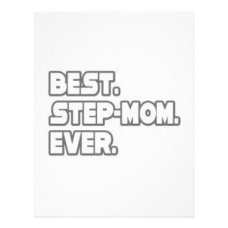 """La mejor madrastra nunca folleto 8.5"""" x 11"""""""