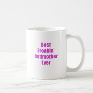 La mejor madrina de Freakin nunca Taza De Café