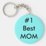 La mejor mamá #1 llavero redondo tipo pin