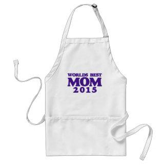 La mejor mamá 2015 de los mundos delantal