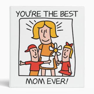 """La mejor mamá carpeta 1"""""""