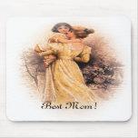 ¡La mejor mamá! Cojín de ratón vertical del día de Alfombrilla De Raton