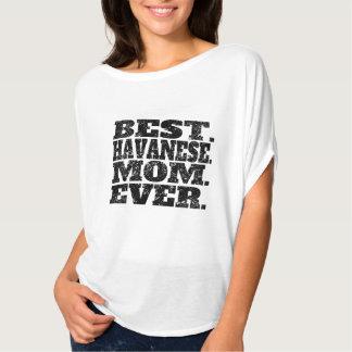 La mejor mamá de Havanese nunca Playera