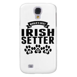 La mejor mamá de Irish Setter del mundo Funda Para Galaxy S4