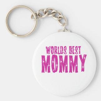 La mejor mamá de los mundos llavero