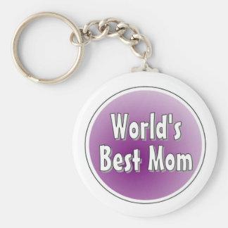 la mejor mamá de los mundos llavero redondo tipo pin