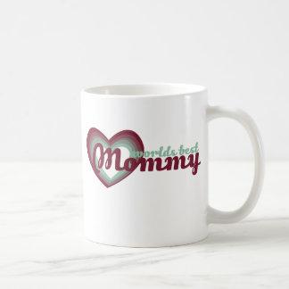 La mejor mamá de los mundos taza de café