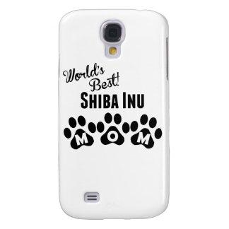 La mejor mamá de Shiba Inu del mundo Funda Para Galaxy S4