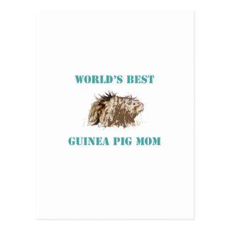 La mejor mamá del conejillo de Indias del mundo Postal