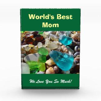 ¡La mejor mamá del mundo! Amor de Seaglass de la p