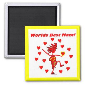La mejor mamá del mundo - círculo del amor imán