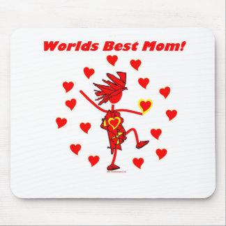 La mejor mamá del mundo - círculo del amor alfombrilla de raton