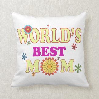 La mejor mamá del mundo cojín
