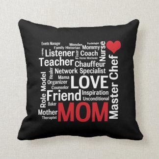 La mejor mamá del mundo - el día o el cumpleaños cojín