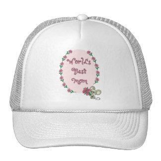 La mejor mamá del mundo gorras de camionero