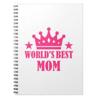 La mejor mamá del mundo libreta