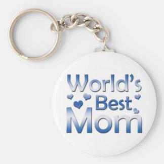 La mejor mamá del mundo llavero redondo tipo pin