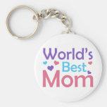 La mejor mamá del mundo llaveros