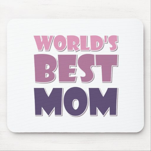 La mejor mamá del mundo mouse pad