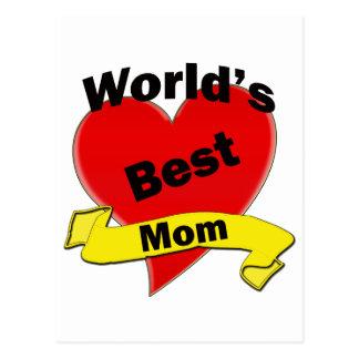 La mejor mamá del mundo postal