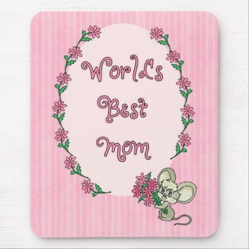 La mejor mamá del mundo tapete de ratones