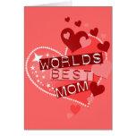 La mejor mamá del mundo tarjetas