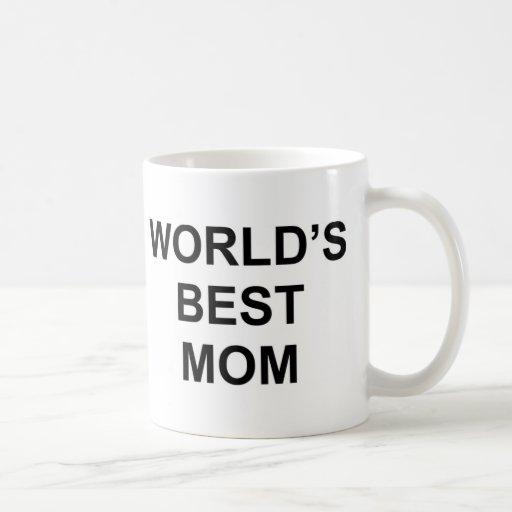 La mejor mamá del mundo tazas de café