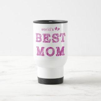 La mejor mamá del mundo taza de viaje