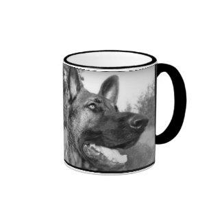 La mejor mamá del pastor alemán del mundo taza de café