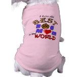 La mejor mamá del perro en los regalos del mundo ropa de mascota