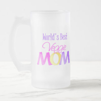 La mejor mamá del Veggie del mundo heló la taza/la
